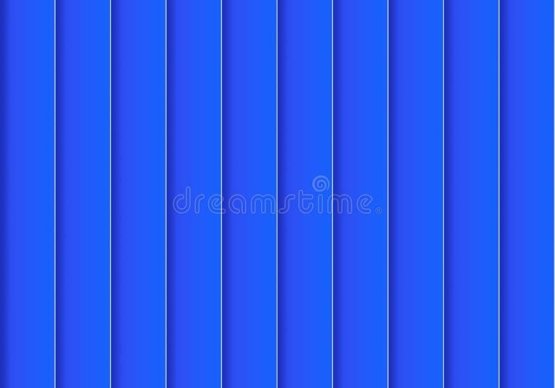 Kolorowy tła składać się z błękitny prostokąt obok each inny z rzędu Mozaika geometryczni elementy Błękitna pionowo żaluzja o ilustracja wektor