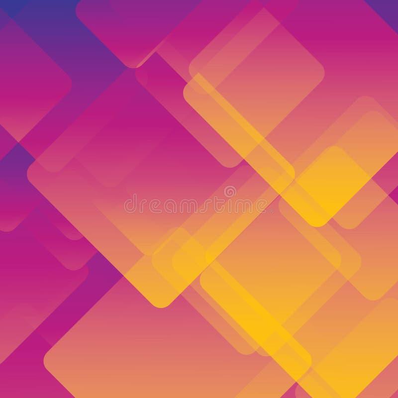 Kolorowy tło abstrakt lub różnorodne projekt grafika, wizytówki Przyszłościowy geometryczny szablon z przemianą ilustracji