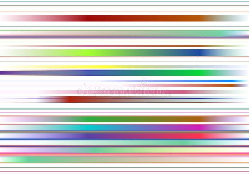 Kolorowy tło z kolorów abstrakcjonistycznymi lampasami ilustracja wektor