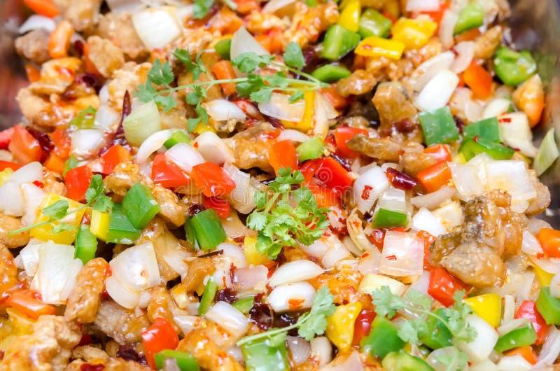 Kolorowy Tajlandzki jedzenie obrazy stock