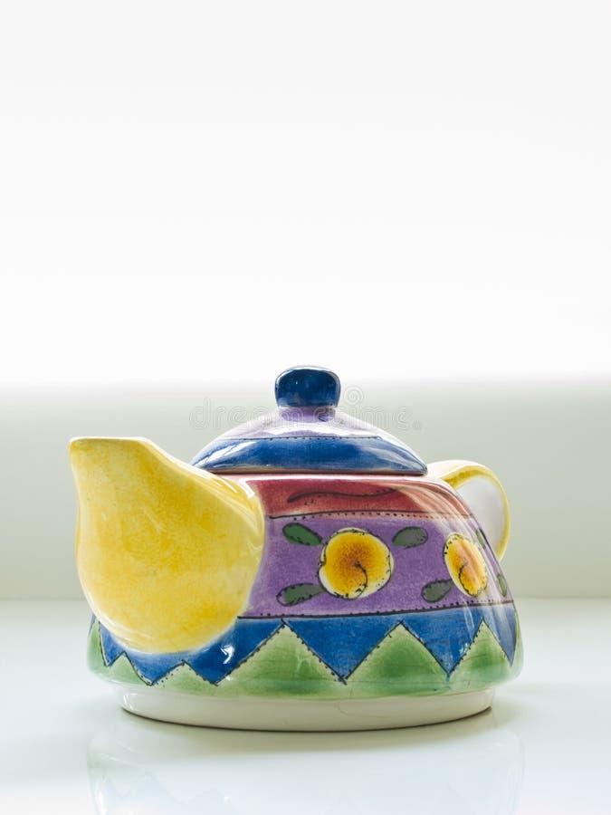 kolorowy teapot zdjęcia stock