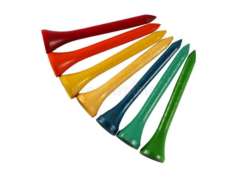 Kolorowy trójnik zdjęcie stock