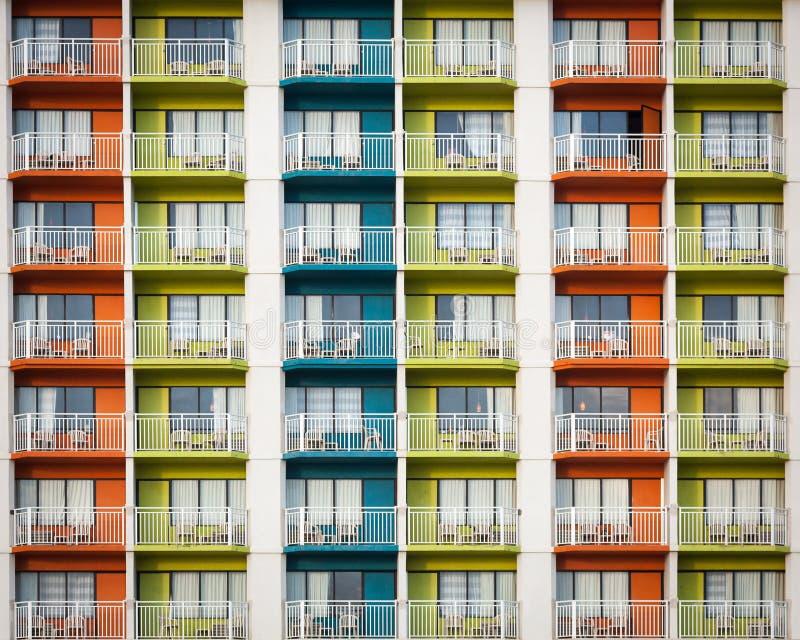 kolorowy w budynku zdjęcie royalty free