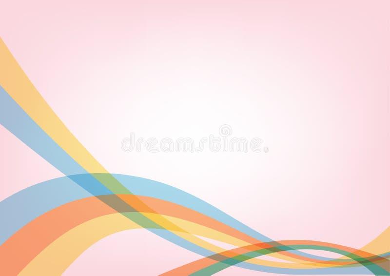 Kolorowy wektorowy abstrakcjonistyczny tła use dla tapety, tło, szablony, plakaty, książkowe pokrywy, broszurki, ulotki ilustracy ilustracji