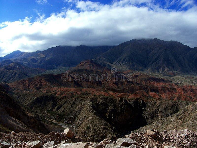 kolorowy widok górski zdjęcie stock