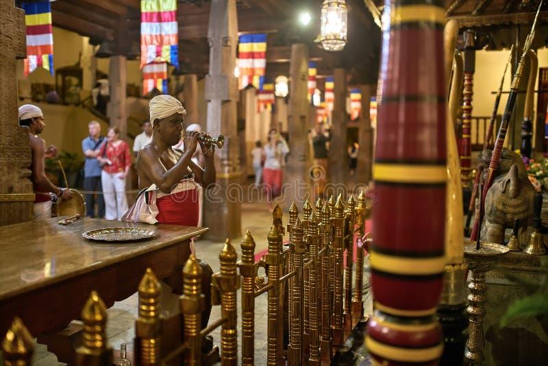 Kolorowy wnętrze ząb świątynia obrazy stock