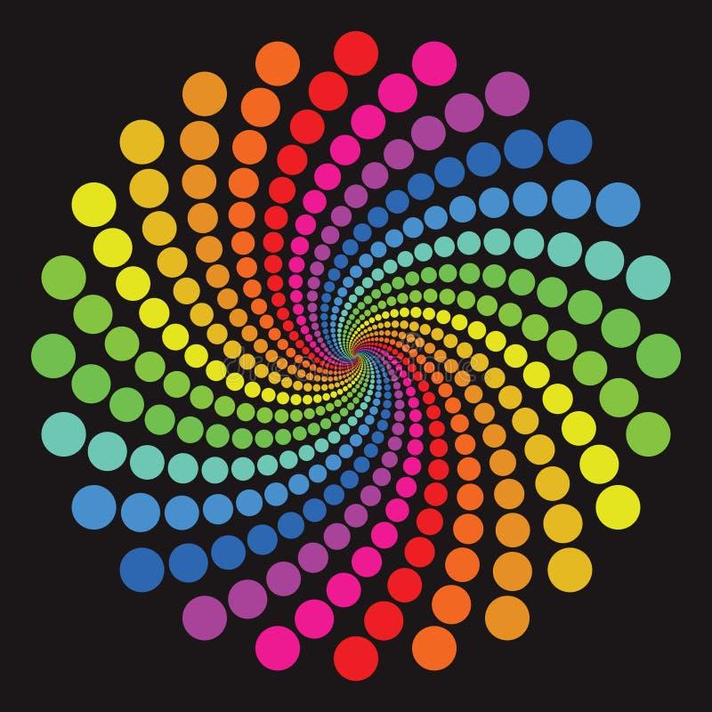 kolorowy wzór ilustracja wektor