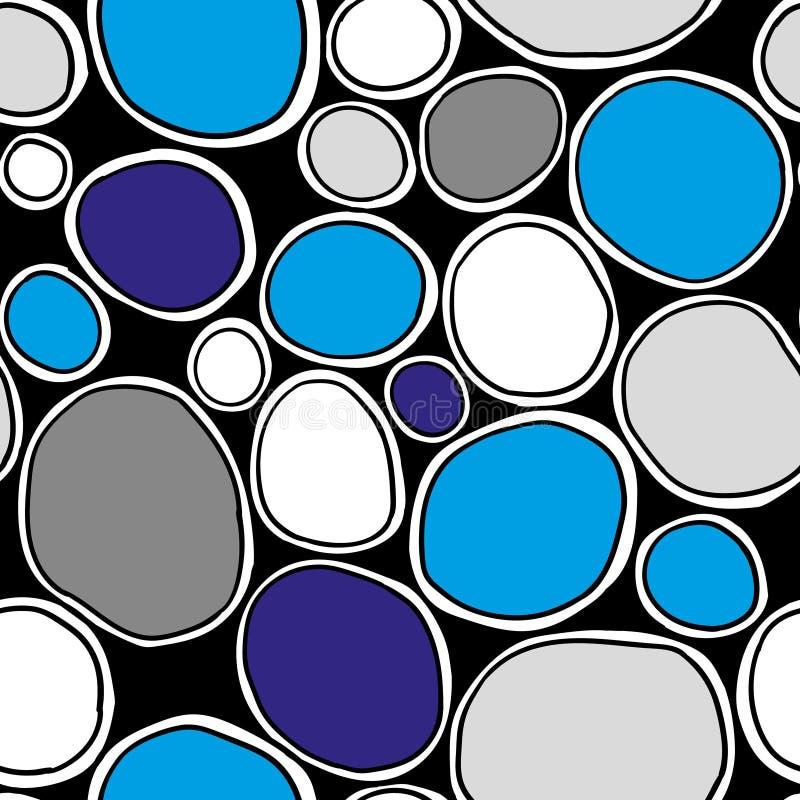 kolorowych deseniowych planowanymi różnych możliwych wektora Elegancka struktura naturalne komórki royalty ilustracja