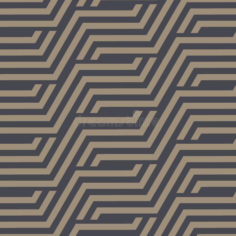 kolorowych deseniowych planowanymi różnych możliwych wektora geometryczna nowożytna tekstura Wielostrzałowy abstrakcjonistyczny t royalty ilustracja