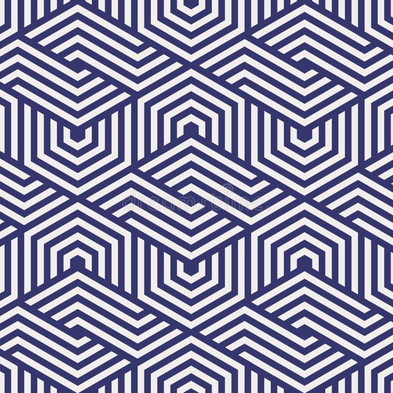 kolorowych deseniowych planowanymi różnych możliwych wektora wielostrzałowa sześciokąt siatka Abstrakt obdzierający geometryczny  ilustracji