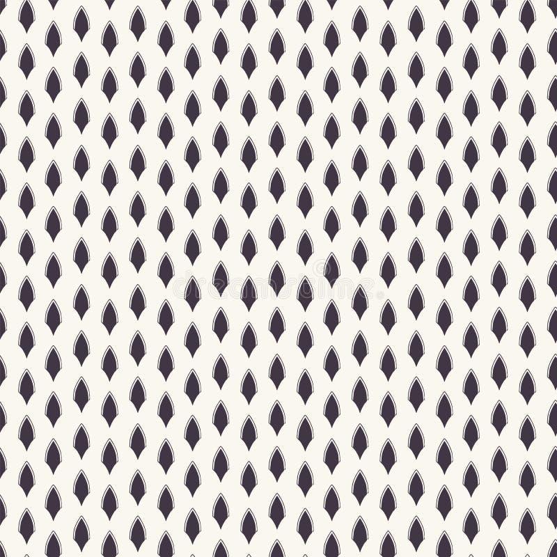 kolorowych deseniowych planowanymi r??nych mo?liwych wektora Linocut paskował diamentowych kształty Wielostrzałowy geometrical da royalty ilustracja
