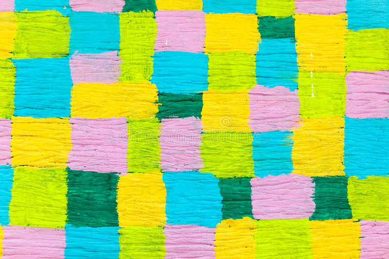 koloru ładna cukierki ściana zdjęcie royalty free