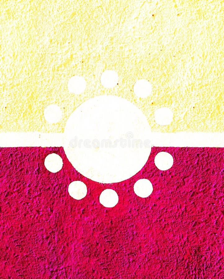 Koloru ścienny tło zdjęcie stock