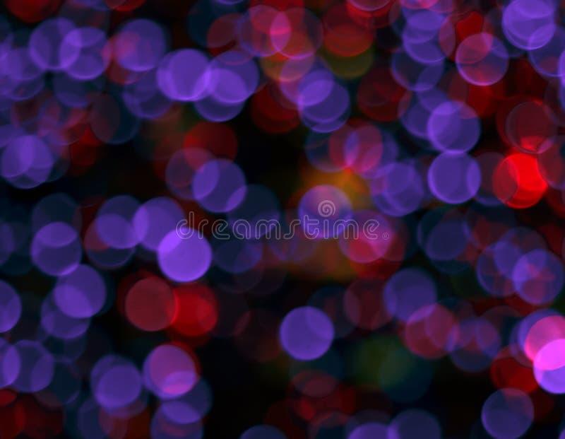 Koloru świecenie w formie okręgi zdjęcia stock