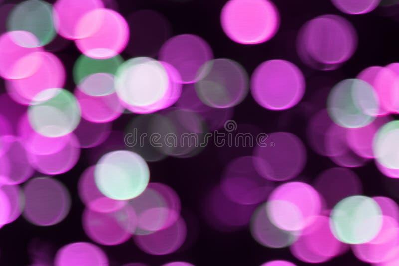 Koloru świecenie w formie okręgi obrazy royalty free