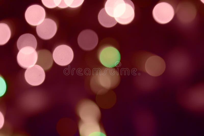 Koloru świecenie w formie okręgi zdjęcia royalty free