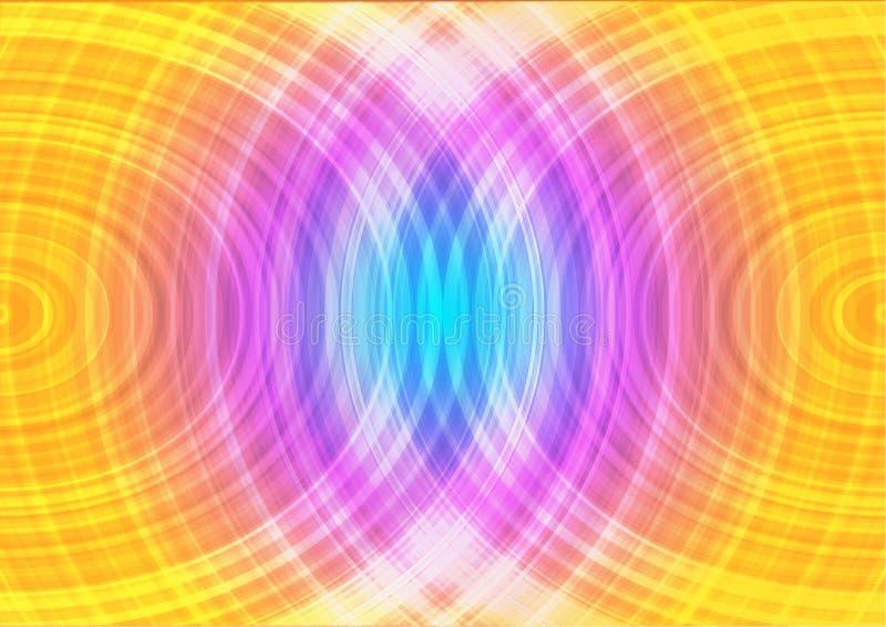 Koloru abstrakcjonistyczny tło projekt ilustracji