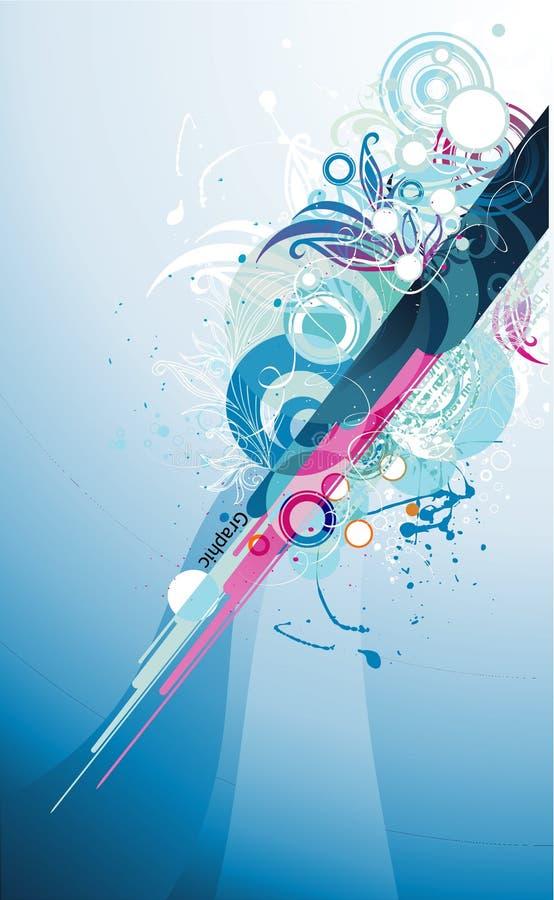 koloru abstrakcjonistyczny wektor ilustracja wektor