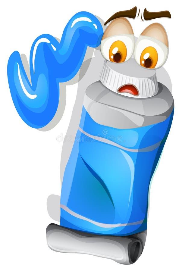 Download Koloru Błękit Z Smutną Twarzą Ilustracja Wektor - Ilustracja złożonej z acrylic, grafika: 57658070