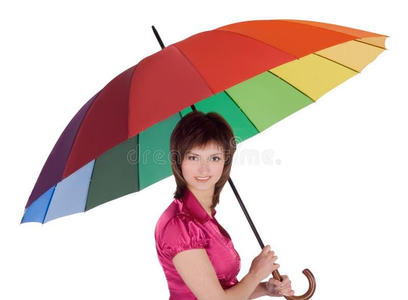 Download Koloru Damy Trwanie Parasolowi Potomstwa Zdjęcie Stock - Obraz złożonej z osoba, wyrażenie: 13338096