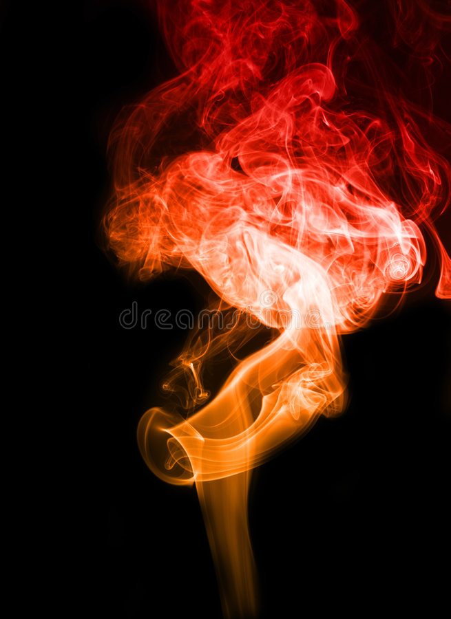 koloru dym obrazy stock