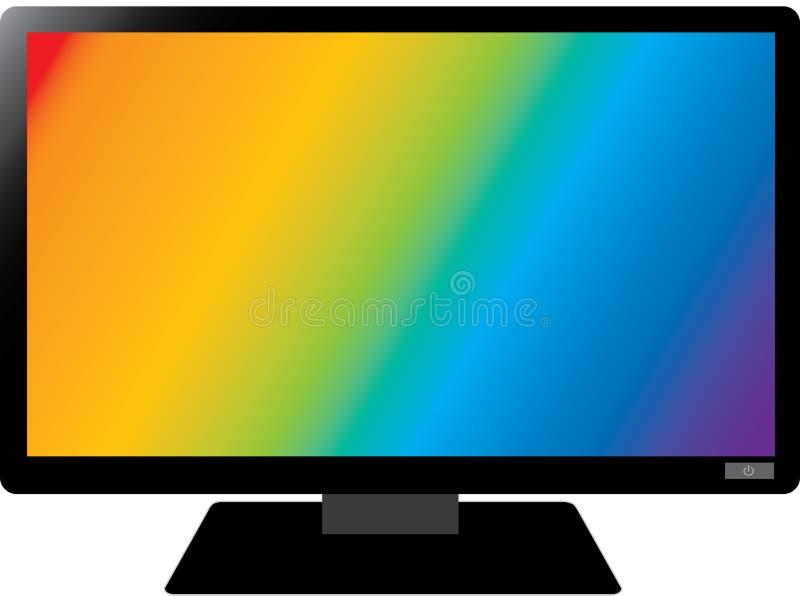 Koloru ekran obrazy royalty free