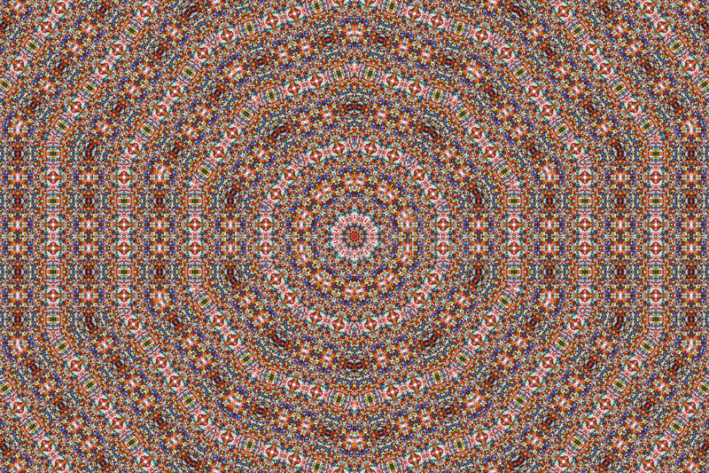 koloru kalejdoskopu wzór obrazy stock