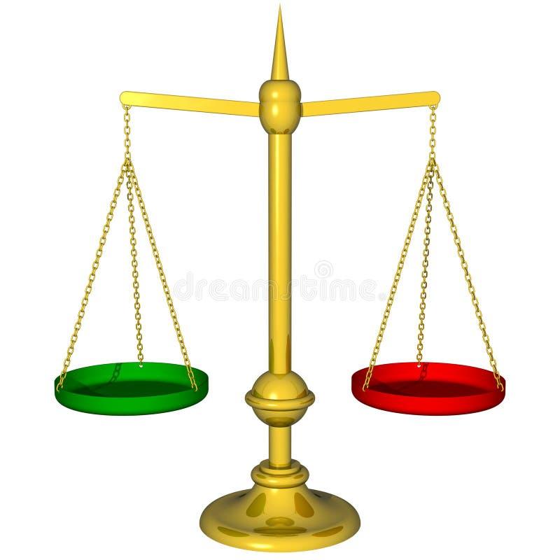 koloru koncepcji bilansu płatniczego royalty ilustracja