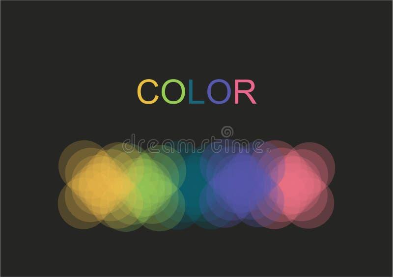 Koloru logo ilustracja wektor