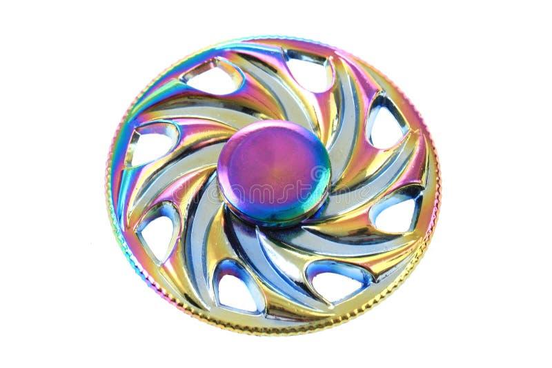 koloru metalu kądziołka zabawka zdjęcie stock