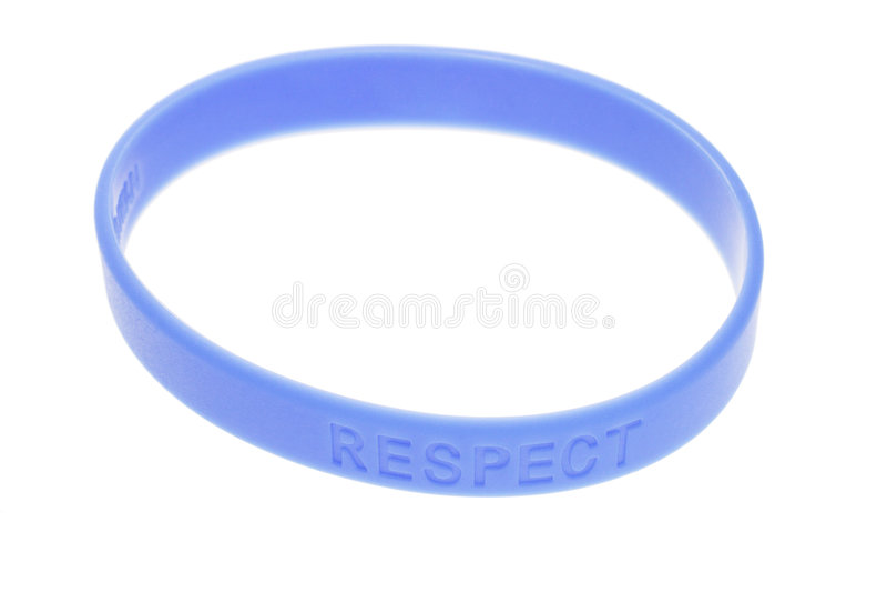 koloru niebieskiego nadgarstek zespołu obrazy royalty free