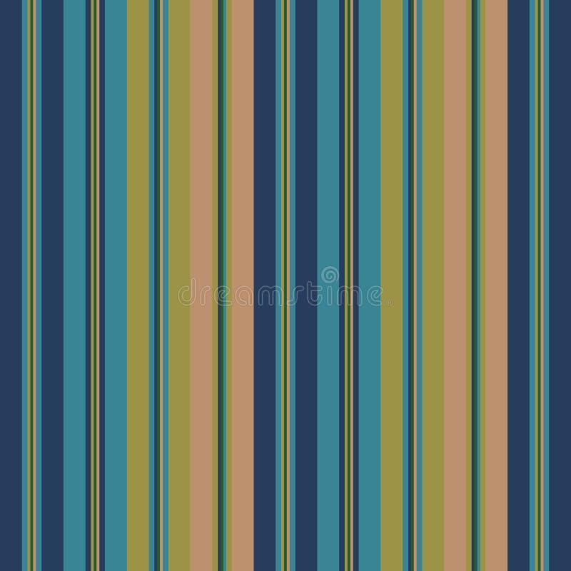 Koloru pantone spadku mody stylu lampasów bezszwowy wzór pochodzenie wektora abstrakcyjne royalty ilustracja