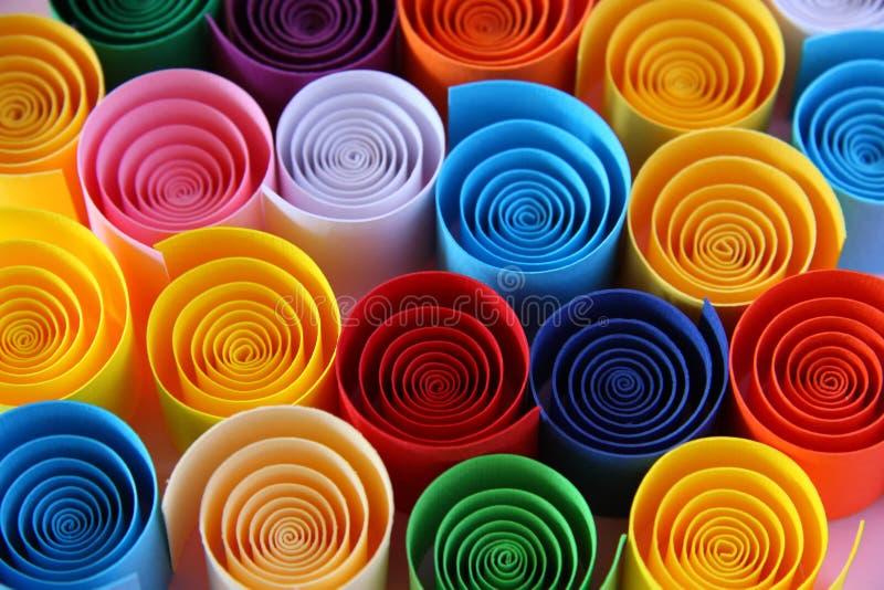 koloru papier zdjęcie stock