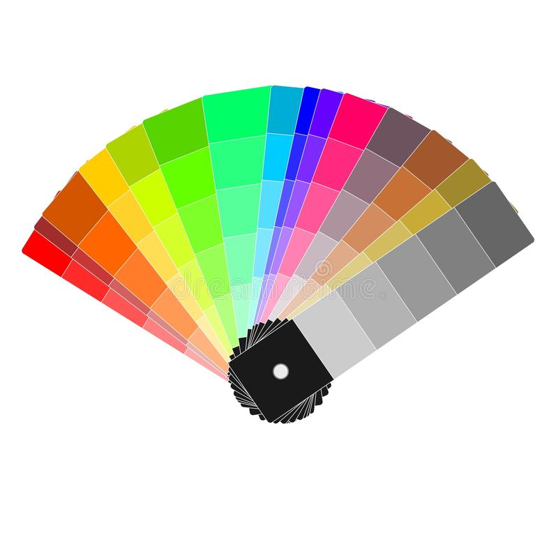koloru pasmo royalty ilustracja