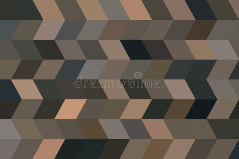Koloru prostokąta abstrakcjonistycznego paska sztuki geometryczny deseniowy generatywny tło Digital, szablon, tekstura & tło, ilustracji