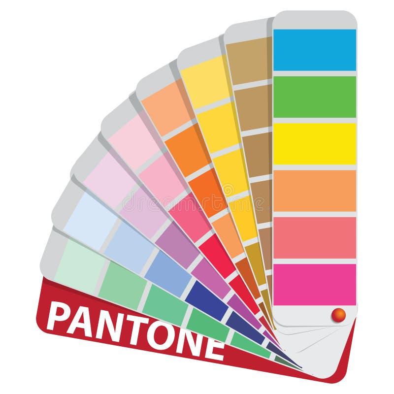 Koloru przewdonik ilustracja wektor