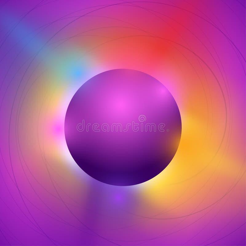 Koloru przyjęcie 03 ilustracja wektor