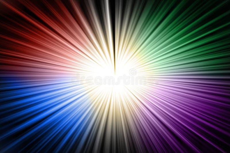 Koloru skręta tło ilustracja wektor