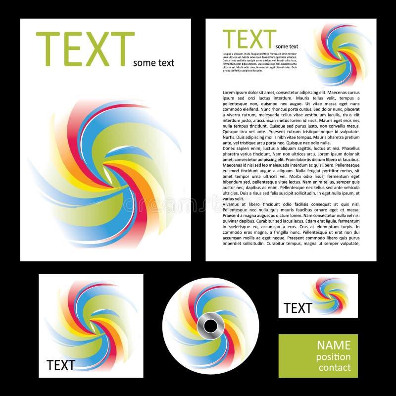 Download Koloru spirali wektor ilustracji. Ilustracja złożonej z grafika - 13328668