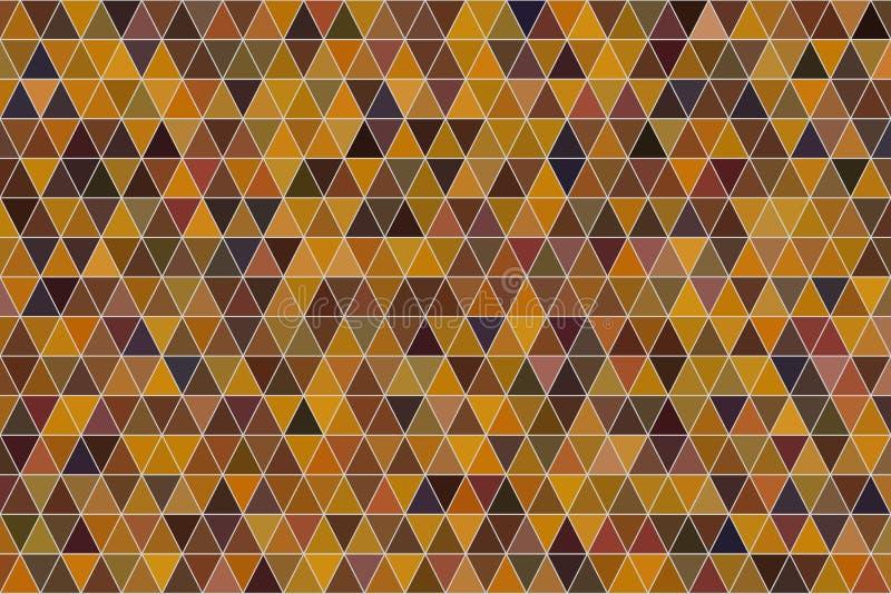 Koloru trójboka abstrakcjonistycznego paska sztuki geometryczny deseniowy generatywny tło Sieć, dekoracja, szablon & kanwa, ilustracja wektor
