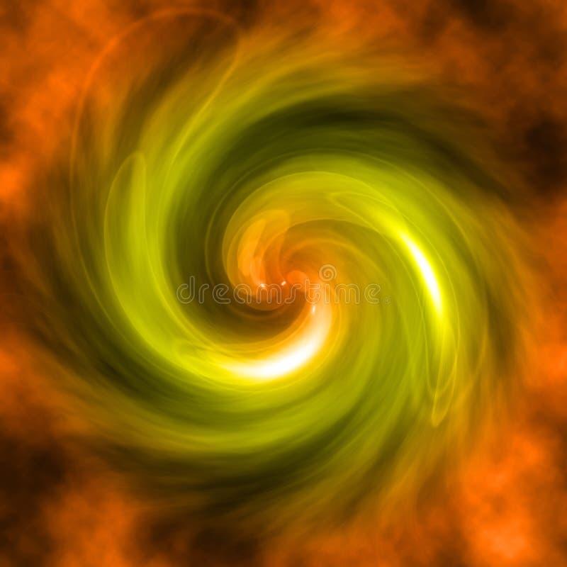 Koloru vortex ilustracji