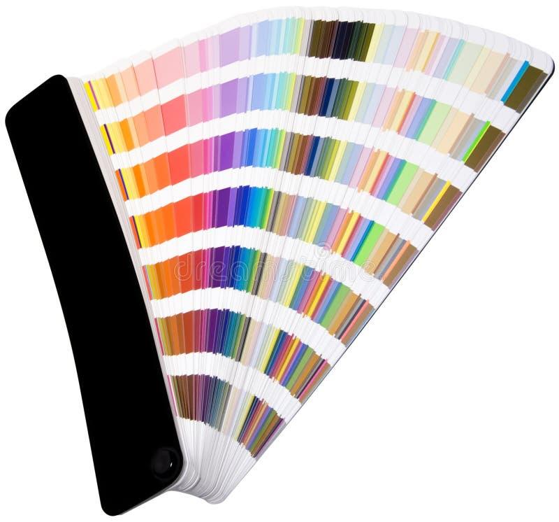 koloru wycinanki skala zdjęcie stock