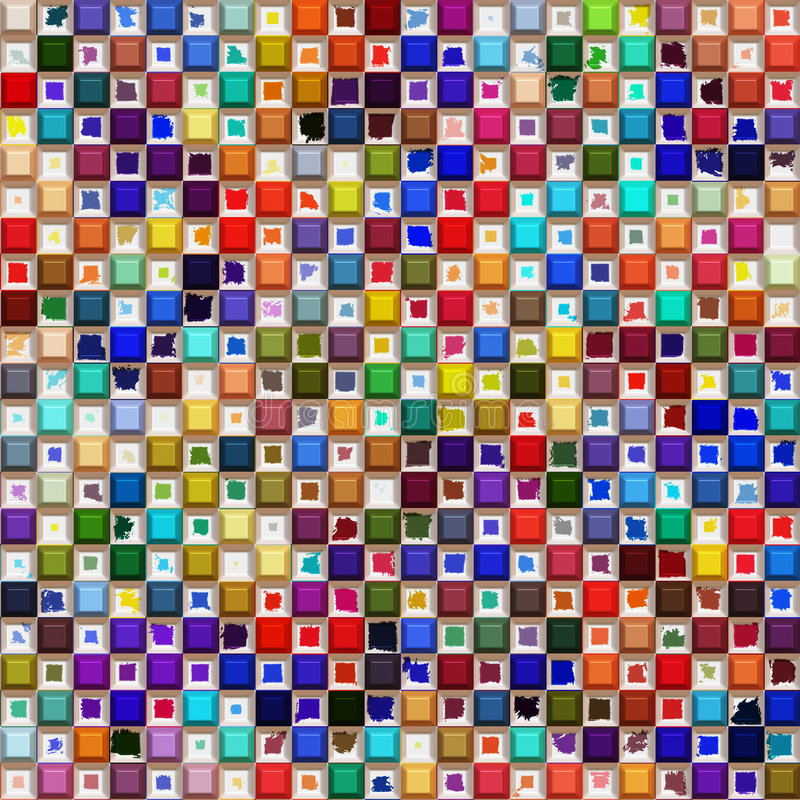 koloru wzór ilustracji