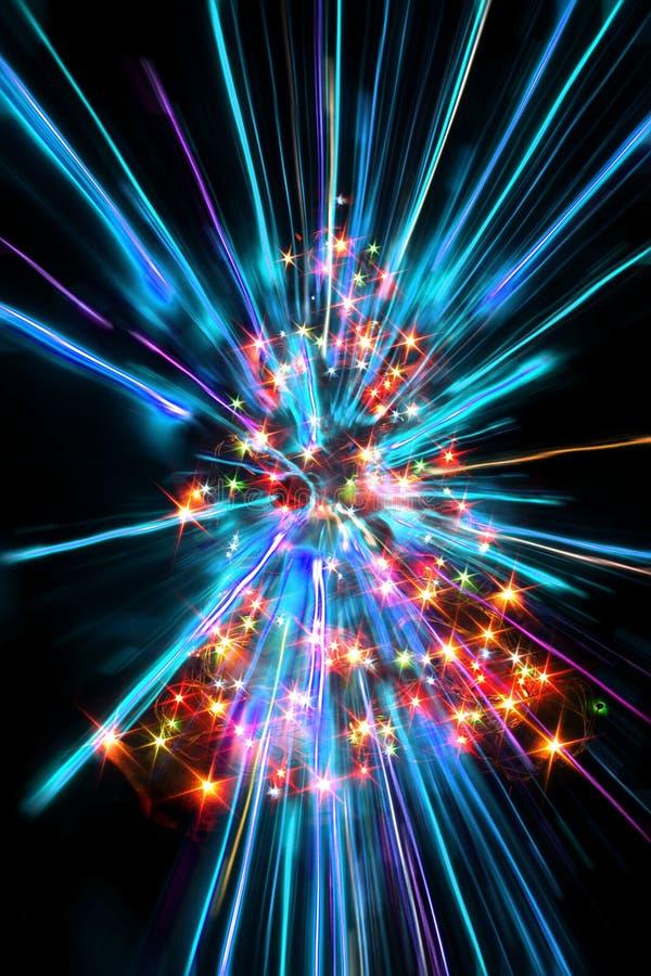 koloru xmas drzewo zdjęcie royalty free
