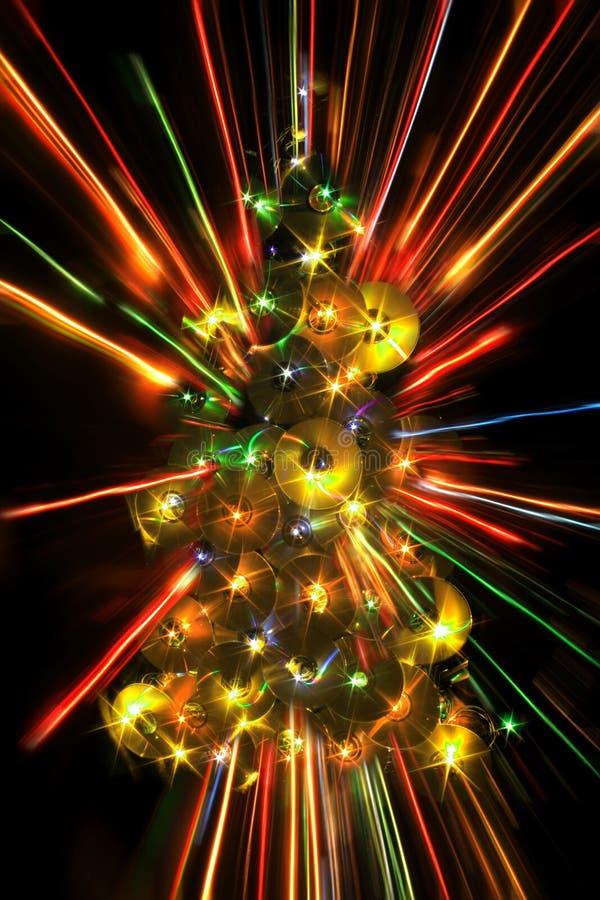koloru xmas drzewo fotografia stock