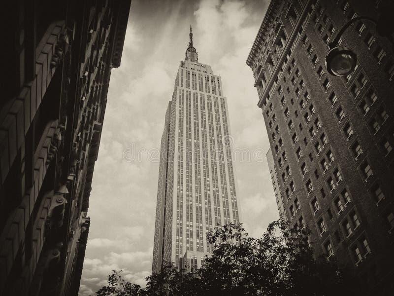 Kolory Empire State Building obrazy stock