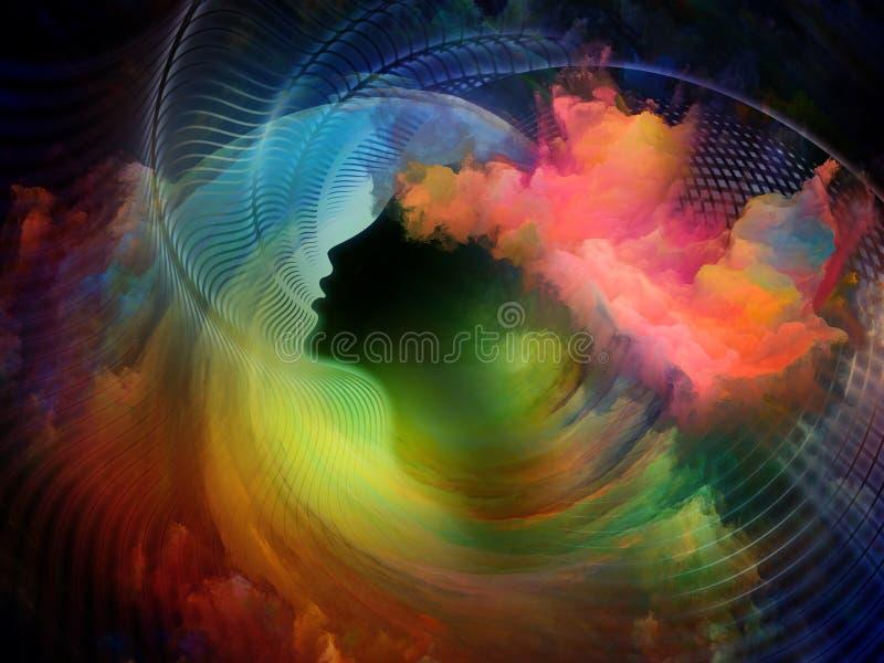 Kolory Kolor royalty ilustracja