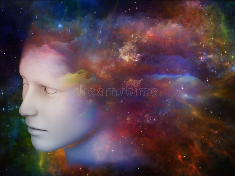 Kolory umysł ilustracji