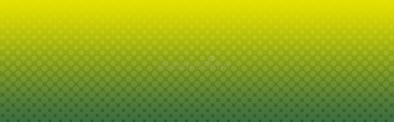 kolory w półtonach nagłówka banner sieci royalty ilustracja