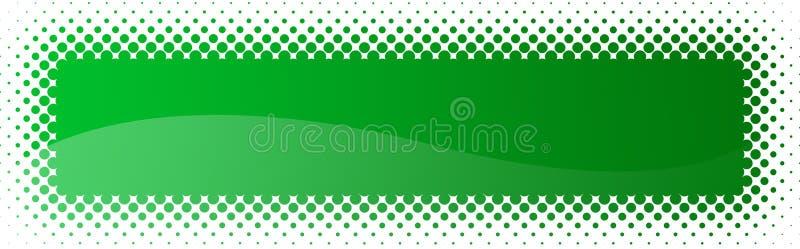 kolory w półtonach nagłówka banner sieci ilustracja wektor